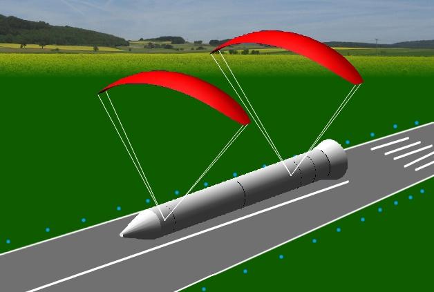 concept booster landing
