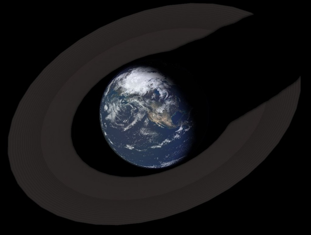 THe Earth's hypothetical rings