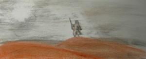 Figure in the Desert