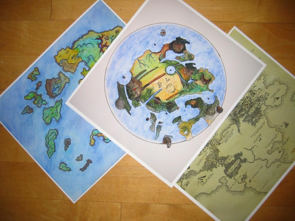 Prints of Archipelago, Zarmina, and Legends!